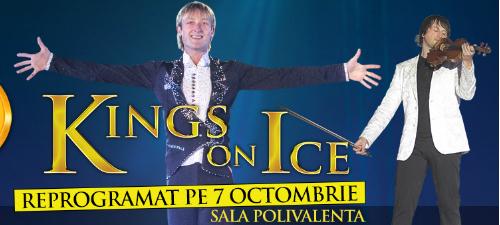 Kings On Ice Olympic Gala va avea loc în octombrie 2014, când Evgeni Plushenko va patina la Bucureşti