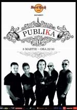 Concert Publika – Ziua Femeii în Hard Rock Cafe din Bucureşti