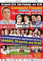 """Concert Constantin Enceanu – """"Stai cu mine, omule, să-ţi cânt"""" la Sala Palatului"""