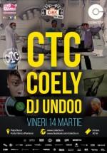 Concert CTC & Coely în Colectiv din Bucureşti