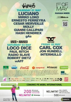 The Mission 1st of May 2014 la Mamaia Nord Beach