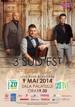 """Concert 3 Sud Est – """"Emoţii"""" la Sala Palatului din Bucureşti"""