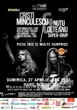 Concert Cristi Minculescu şi Nuţu Olteanu la Hard Rock Cafe din Bucureşti