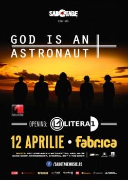Concert God Is An Astronaut în Club Fabrica din Bucureşti