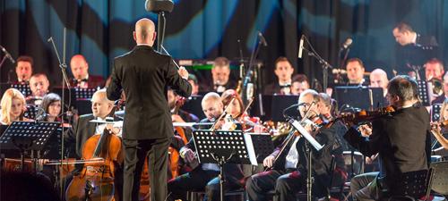 """POZE: """"Pe aripile muzicii"""" cu Orchestra Simfonică Bucureşti la Sala Palatului"""