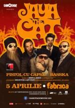 Concert Jaya The Cat în Club Fabrica din Bucureşti (CONCURS)