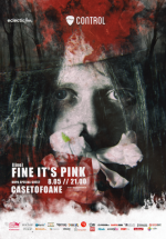 Concert Fine it's Pink în Control Club din Bucureşti