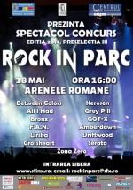 Spectacol-concurs Rock in Parc la Arenele Romane din Bucureşti