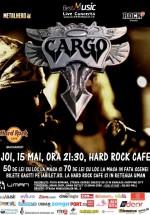 Concert Cargo în Hard Rock Cafe din Bucureşti
