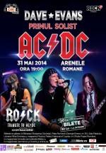 Concert Dave Evans & The R.O.C.K. la Arenele Romane din Bucureşti