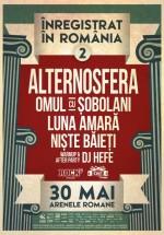 Înregistrat în România #2 la Arenele Romane din Bucureşti