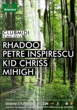 Rhadoo şi Petre Insiprescu în Club Midi din Cluj-Napoca