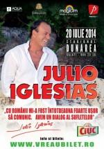 Concert Julio Iglesias la Stadionul Dunărea din Galaţi