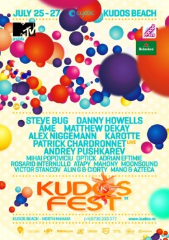 Kudos Fest 2014 la Kudos Beach din Mamaia