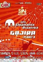 Concert Les Elephants Bizarres şi Gojira la Goblin Vama Veche