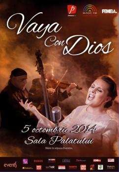 Concert Vaya con Dios la Sala Palatului din Bucureşti