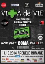Concert Viţa de Vie & Friends la Arenele Romane din Bucureşti