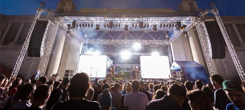 Concertele lunii august 2014 în România