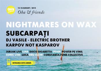 Concert Nightmares on Wax la OHA Beach din Mamaia