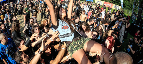 FOTO: Sodom, Dordeduh şi The Agonist la Rockstadt Extreme Fest 2014