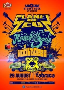 Concert Planet of Zeus în Club Fabrica din Bucureşti (CONCURS)