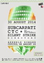 Lansare SONOR: Subcarpaţi, CTC, Silent Strike la Arenele Romane Bucureşti (CONCURS)