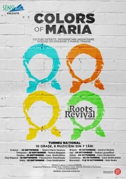 """Turneu Roots Revival România – """"Colors of Maria"""" 2014 (CONCURS)"""
