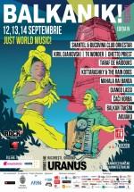 Balkanik! Festival 2014 la Grădina Uranus din Bucureşti (CONCURS)
