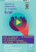Concerte de muzică alternativă la Zilele Bucureştiului 2014, în Piaţa Universităţii