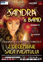Concert Sandra la Sala Palatului din Bucureşti