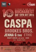 Dub Police 10 anniversary party cu Caspa, Brookes Bros, Jenna G live şi Ethic la Arenele Romane din Bucureşti (CONCURS)