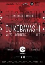Kobayashi la RE:ACTIV – Balkanik Edition în Colectiv din Bucureşti