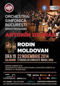 Orchestra Simfonică Bucureşti – Capodopere Ale Marilor Compozitori (II) – Antonin Dvorak la Sala Radio din Bucureşti