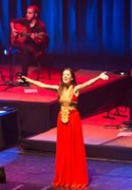 FOTO: Ana Moura – Concert fado de Crăciun la Sala Palatului din Bucureşti