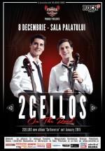 Concert 2Cellos la Sala Palatului din Bucureşti