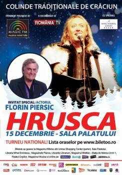Concert Ştefan Hruşcă la Sala Palatului din Bucureşti (CONCURS)