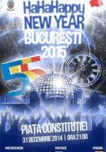 Revelion 2015 în Piaţa Constituţiei din Bucureşti