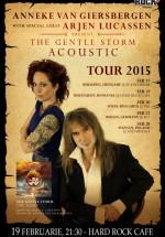 Concert Anneke Van Giersbergen şi Arjen Lucassen la Hard Rock Cafe din Bucureşti