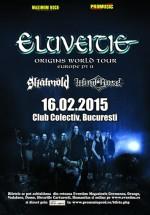 Concert Eluveitie în Colectiv din Bucureşti