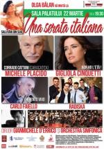 """""""Una serata italiana"""" la Sala Palatului din Bucureşti"""