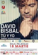 Concert David Bisbal la Sala Palatului din Bucureşti (CONCURS)