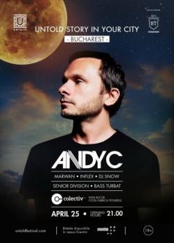 Andy C – Untold Story in Your City – în Colectiv din Bucureşti