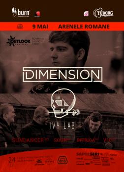 Outlook Festival 2015: Dimension & Ivy Lab la Arenele Romane din Bucureşti (CONCURS)