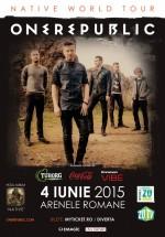 Concert OneRepublic la Arenele Romane din Bucureşti