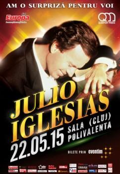 Concert Julio Iglesias la Sala Polivalentă din Cluj-Napoca