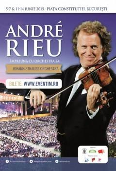 Concert André Rieu în Piaţa Contituţiei din Bucureşti
