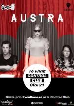 Concert Austra în Control Club din Bucureşti