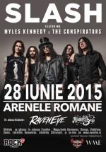 Concert Slash feat. Myles Kennedy & The Conspirators la Arenele Romane din Bucureşti