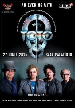 Concert Toto la Sala Palatului din Bucureşti