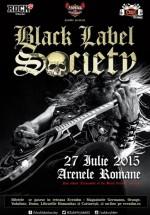 Concert Black Label Society la Arenele Romane din Bucureşti